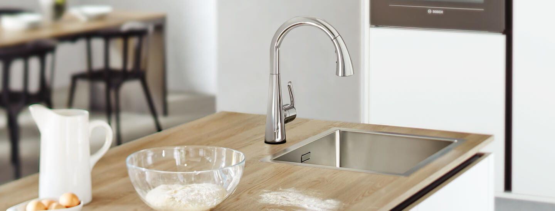 LadyLux Cafe Touch Kitchen Faucet