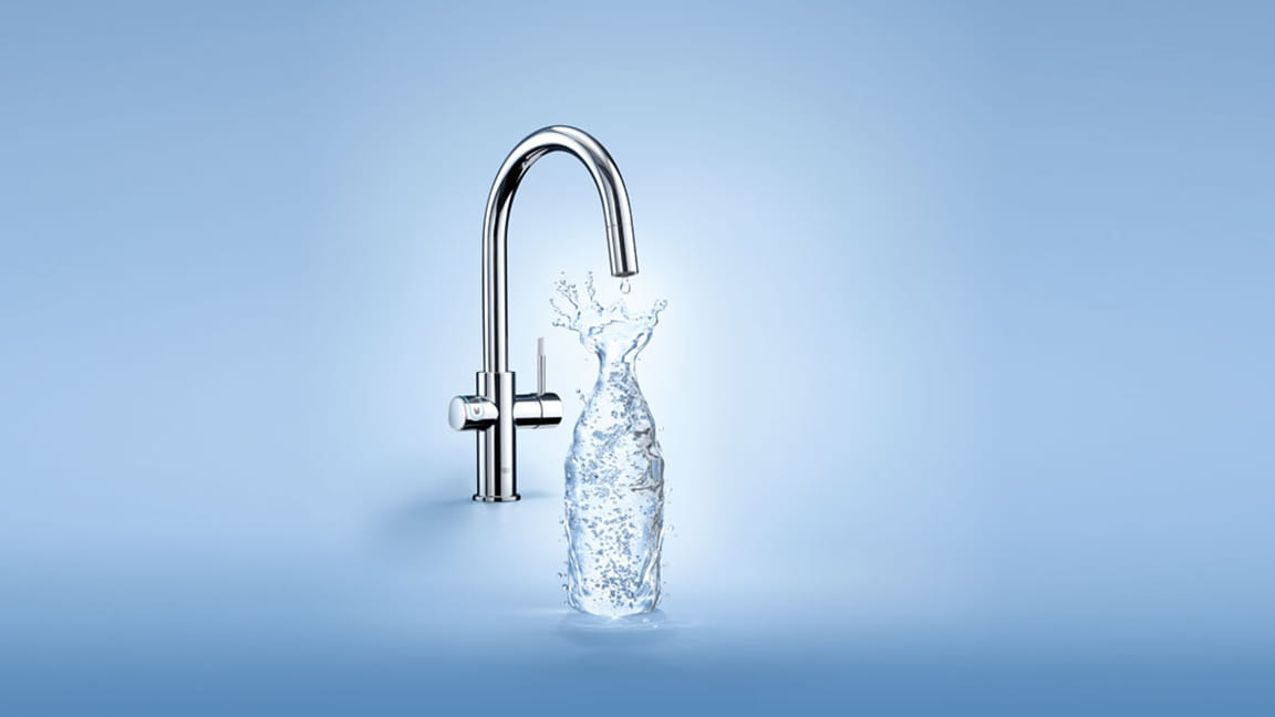 GROHE Blue Faucet