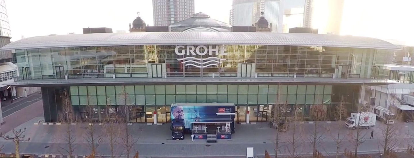 Image of a Grohe building.