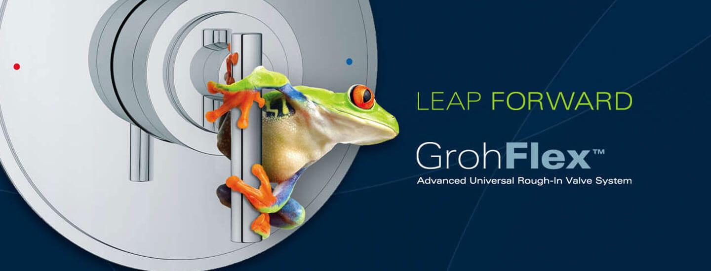 grenouille sur GrohFlex