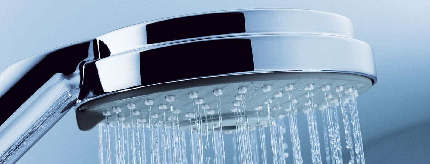 Close up image of the Rainshower cosmopolitan shower head