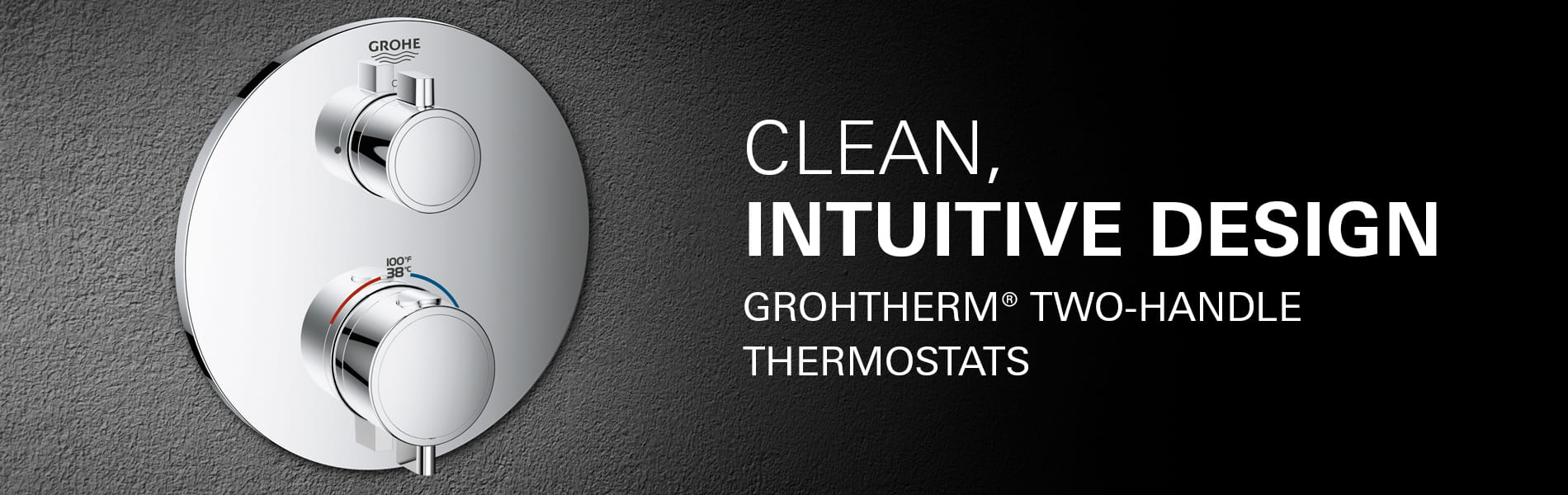 grotherm 2 handle thermostat