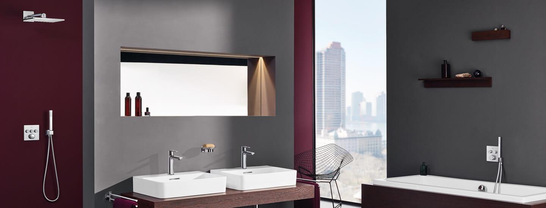 bathroom shower and bath trim