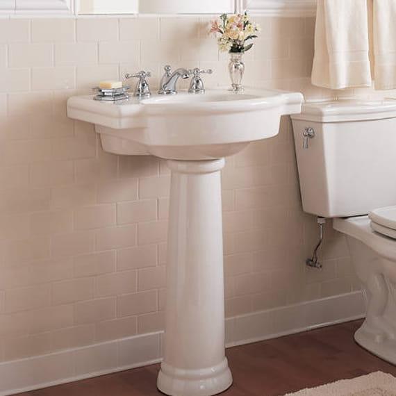 retrospect pedestal sink