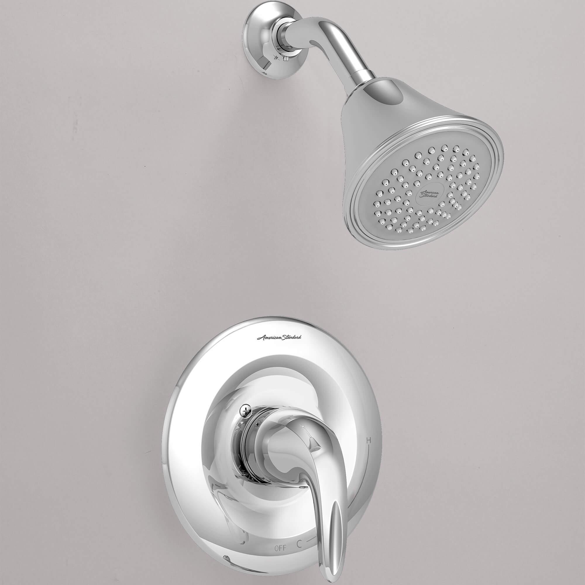 reliant shower trim polished chrome