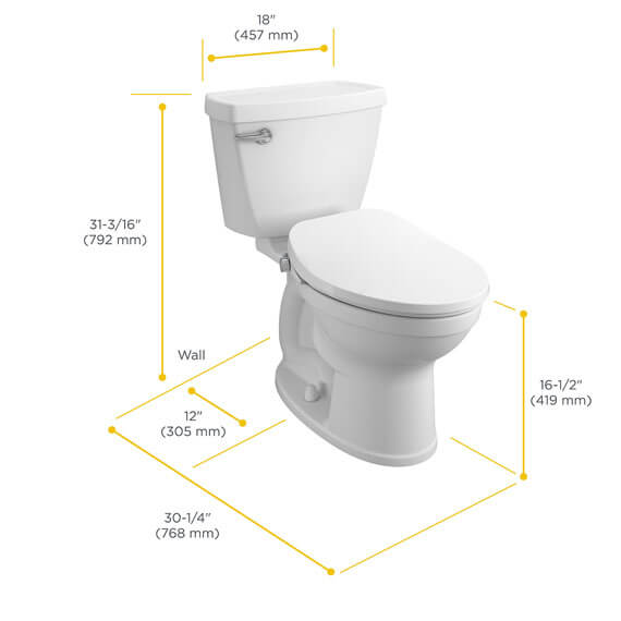 how to measure toilet for bidet seat