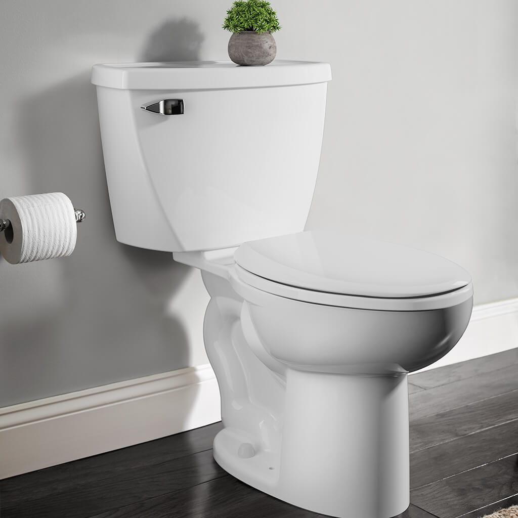 cadet toilet in white
