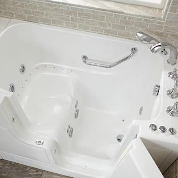 combo massage tub