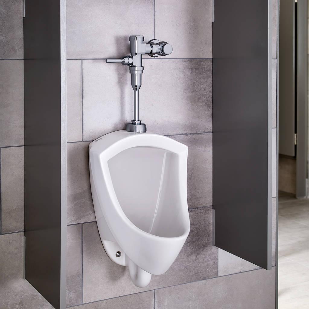 Pintbrook Urinal System with Manual Flush Valve