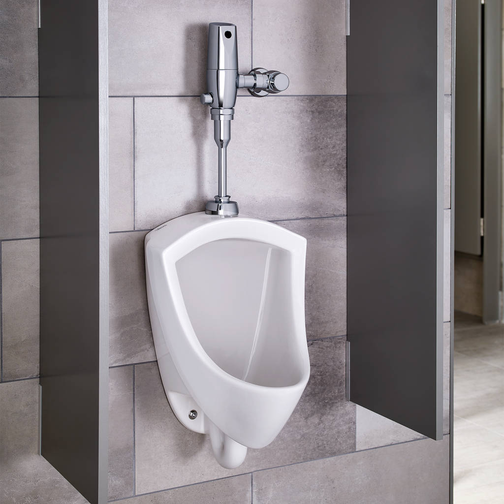 Pintbrook Urinal System with Battery Powered Flush Valve