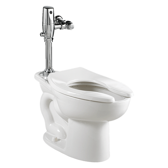 Madera 1.6 / 1.1 gpf ADA Dual Flush EverClean Toilet with Selectronic Exposed Battery Flush Valve System