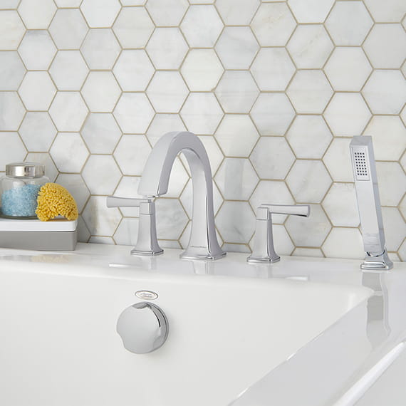 Townsend Roman Tub Faucet with Personal Shower