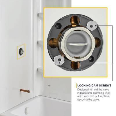 Flash Locking Cam Screws