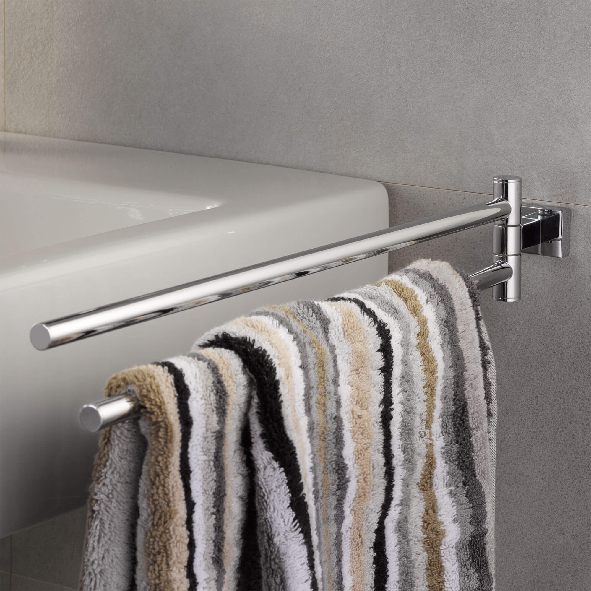 GROHE Essentials Cube Towel Bar