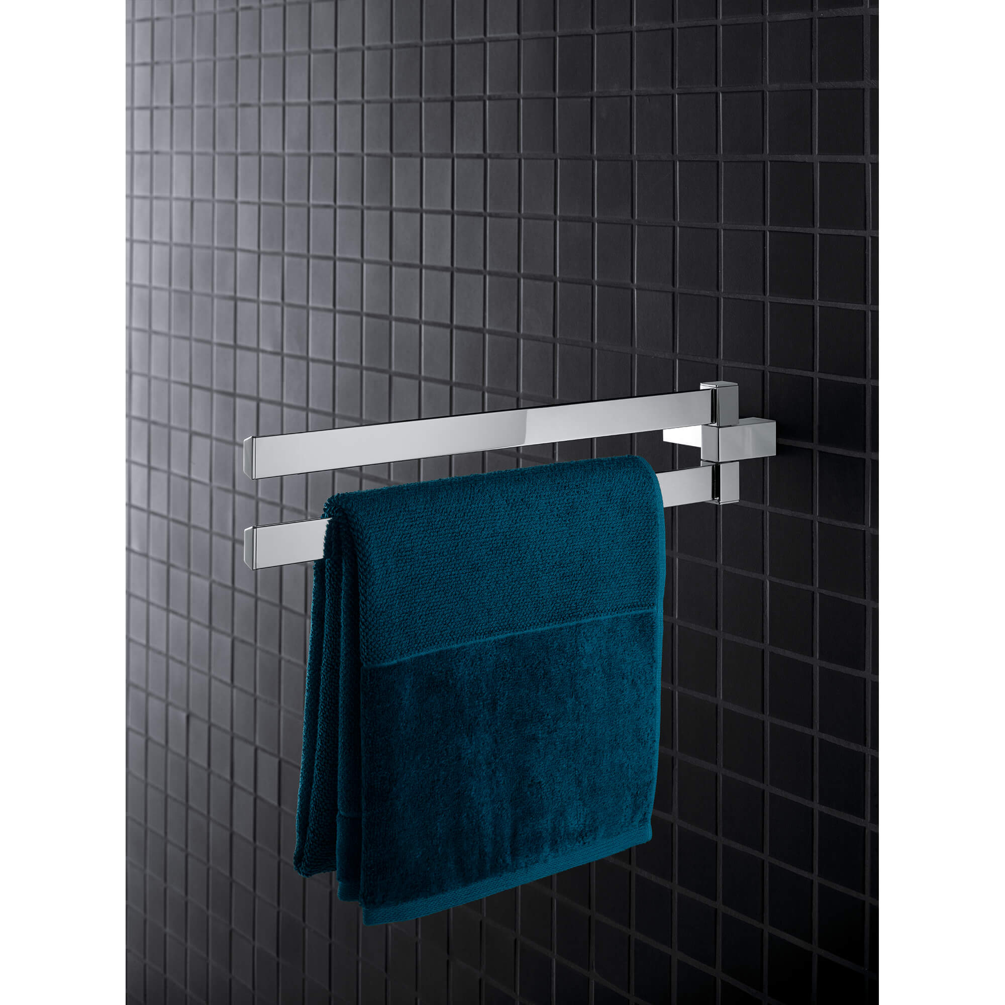 towel holder with square towel