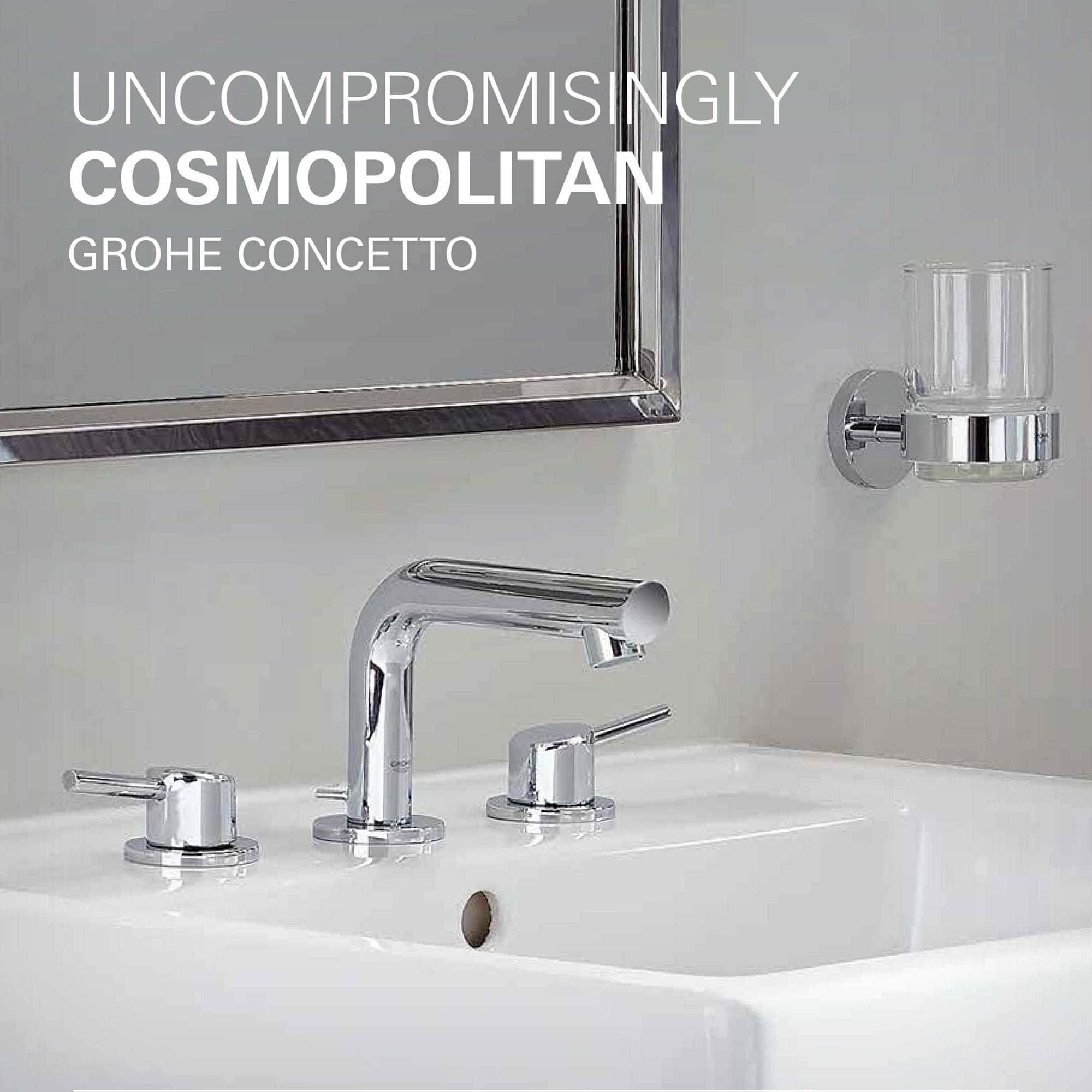 faucet with white sink