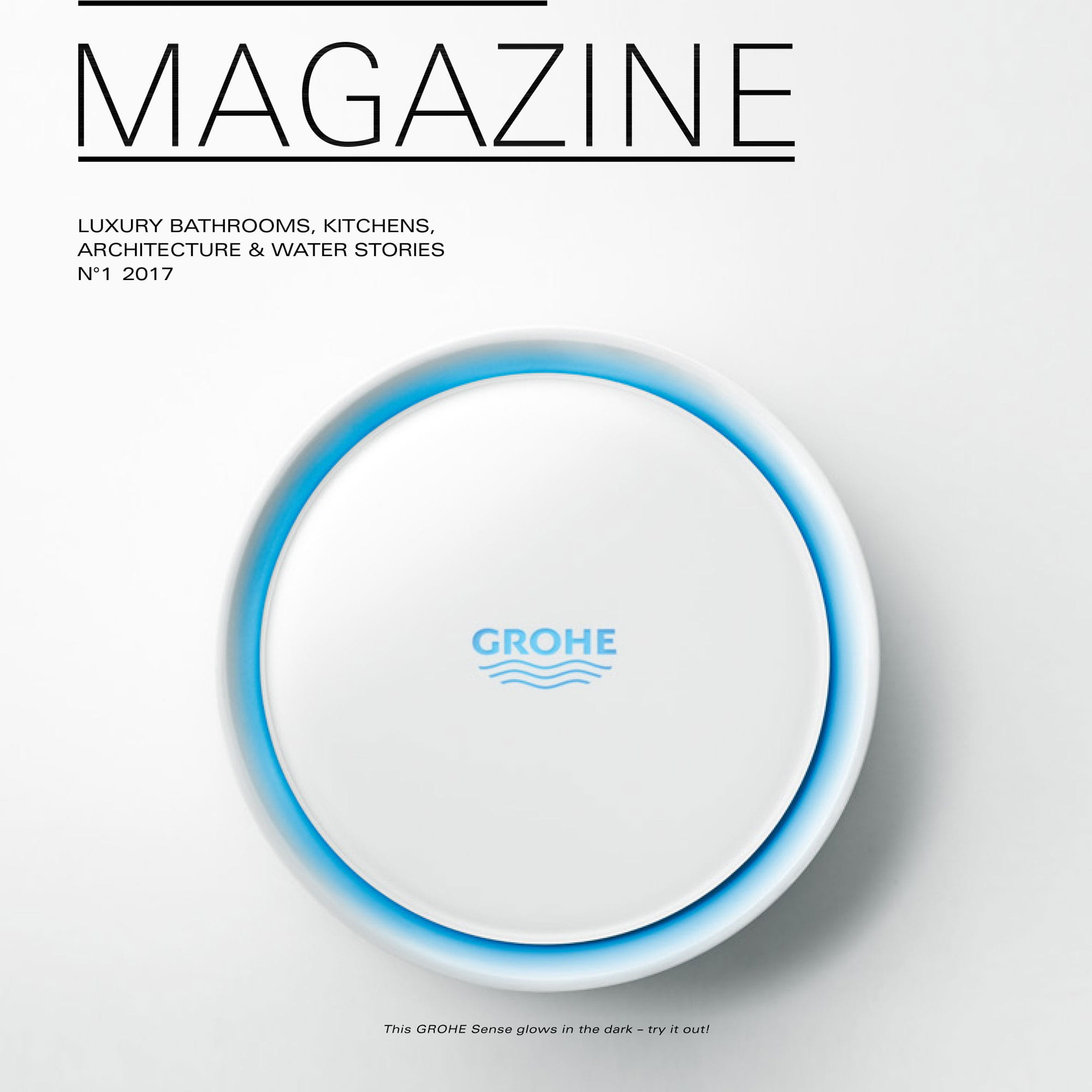 GROHE SENSE with white background