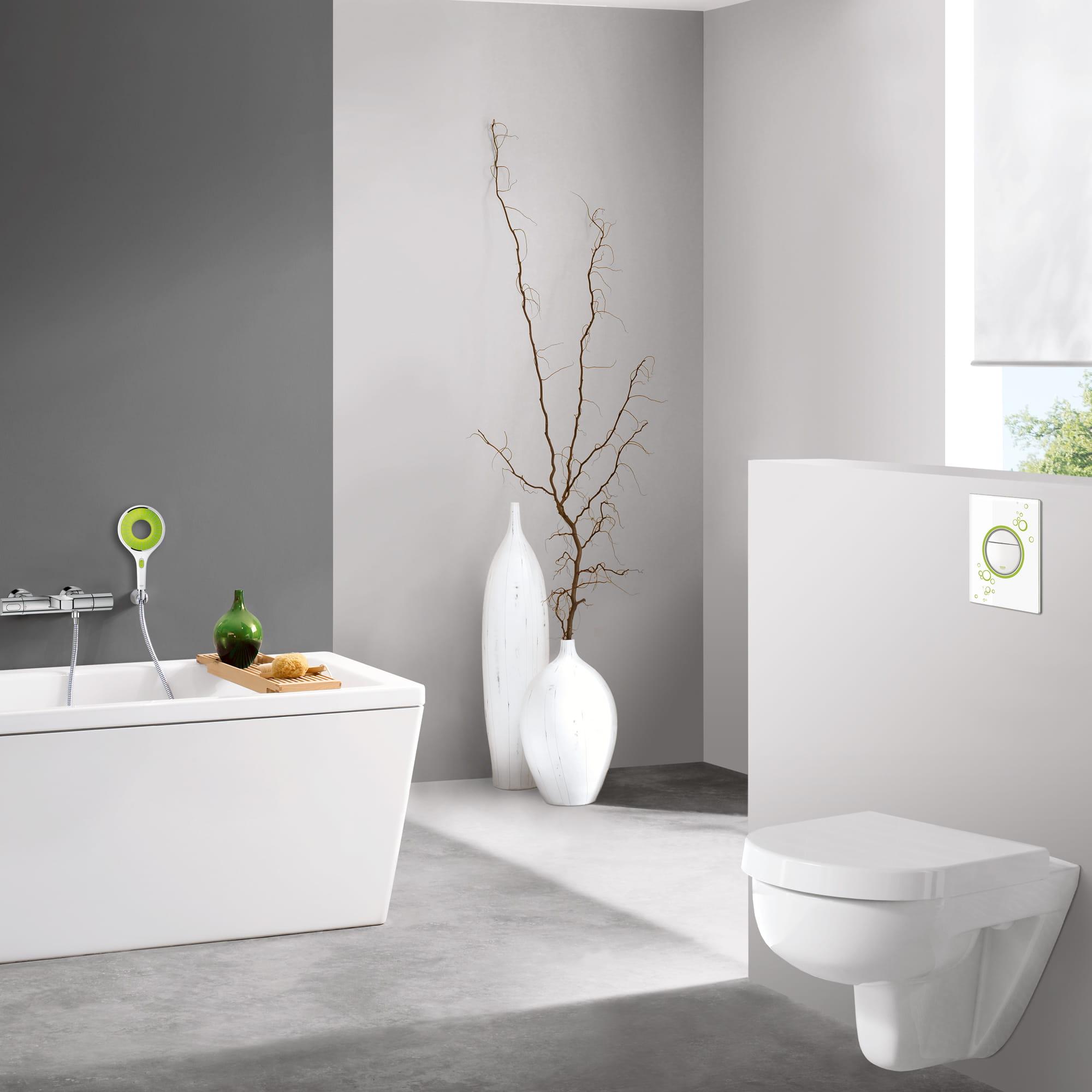 GROHE Toilettes aux accents verts