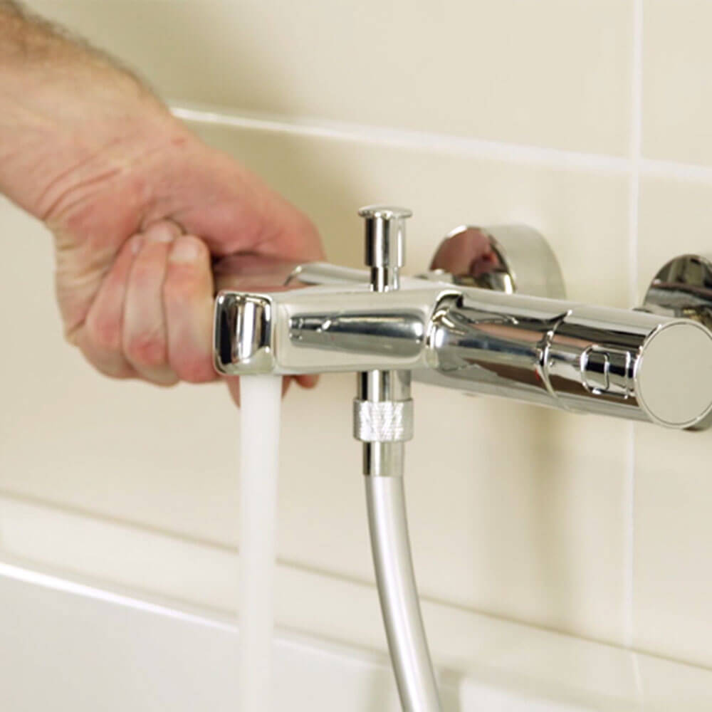 Install a Thermostatic Faucet