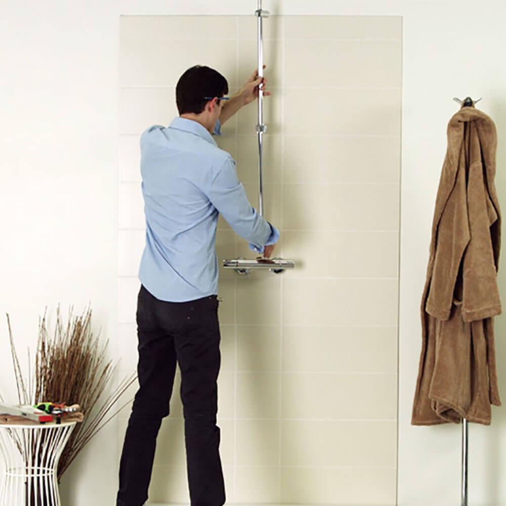 Installer un système de douche thermostatique