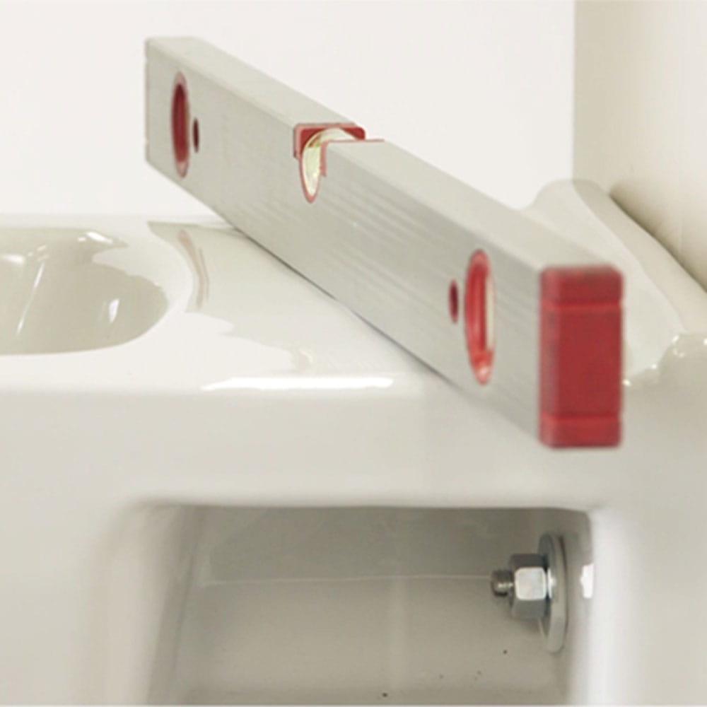 Installer un système de toilette suspendu