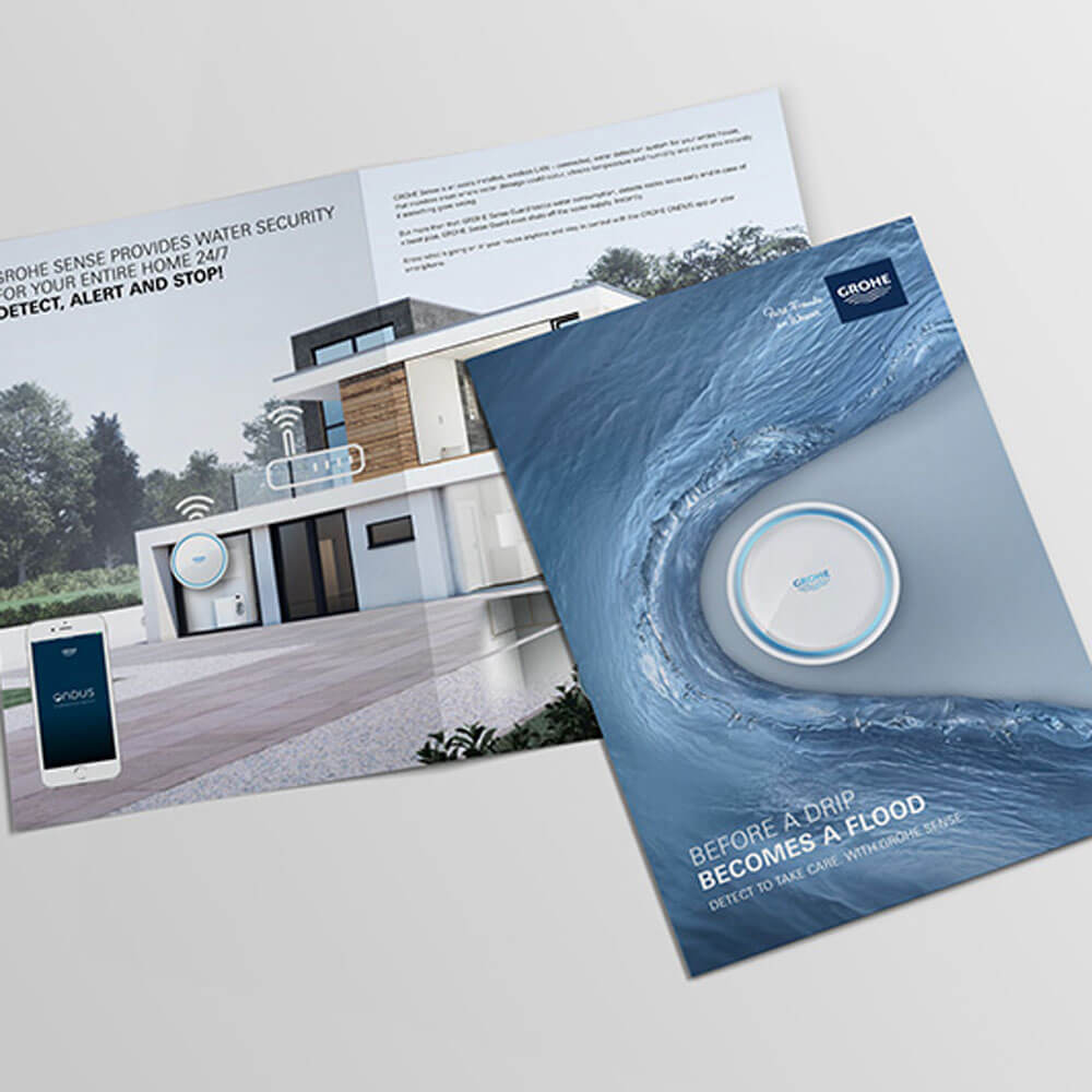Learn more about GROHE Sense and Sense Guard