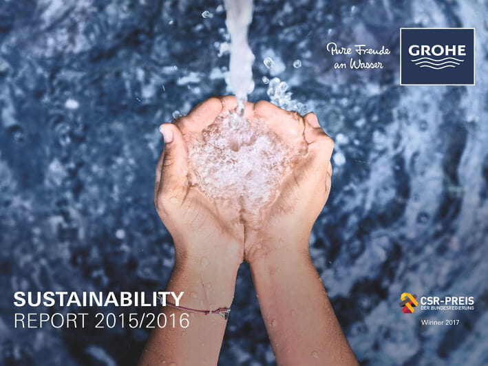 GROHE Sustainability Report - 2015 and 2016
