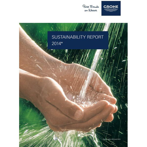 GROHE Sustainability Report 2013 - 2014