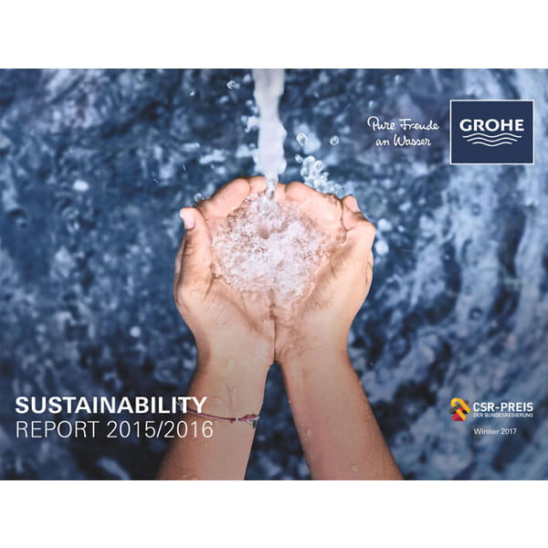 GROHE Sustainability Report 2015 - 2016