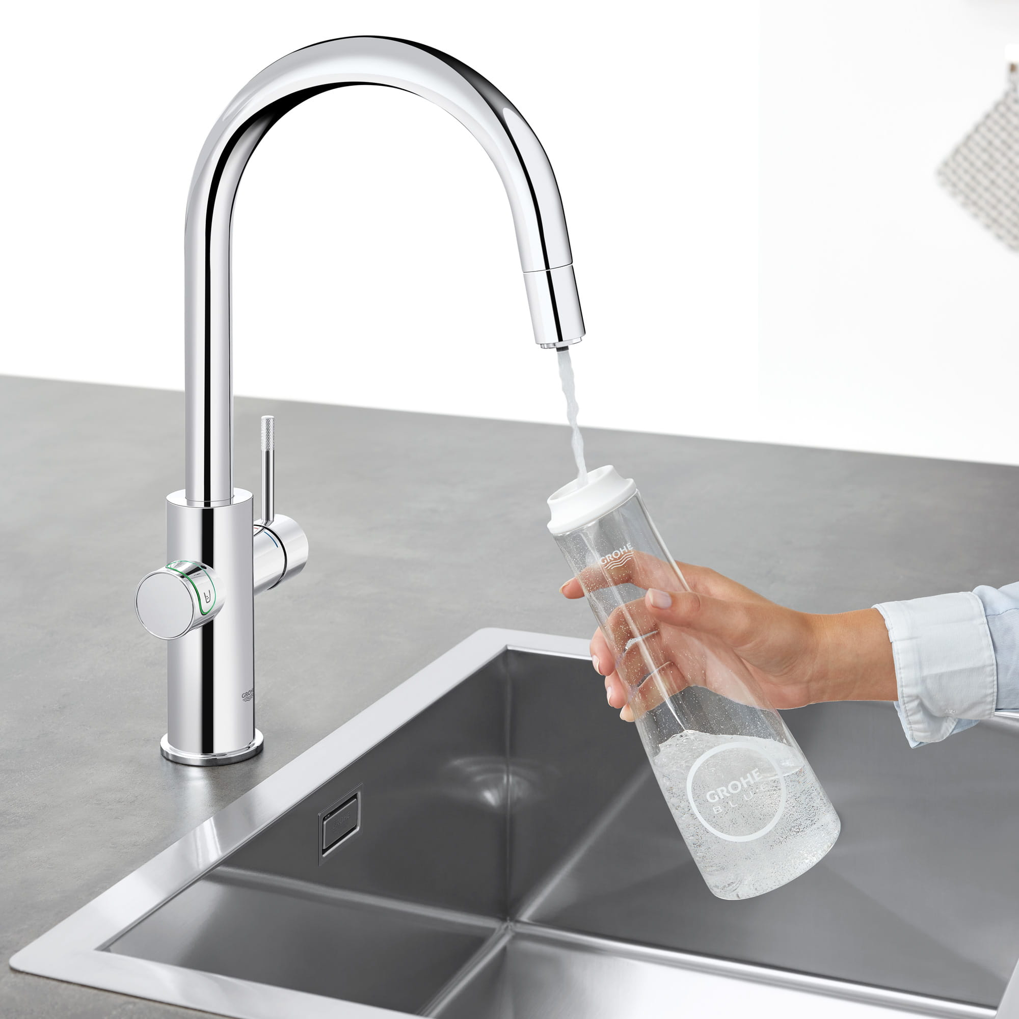 GROHE Blue Chilled and Sparkling Kitchen Faucet