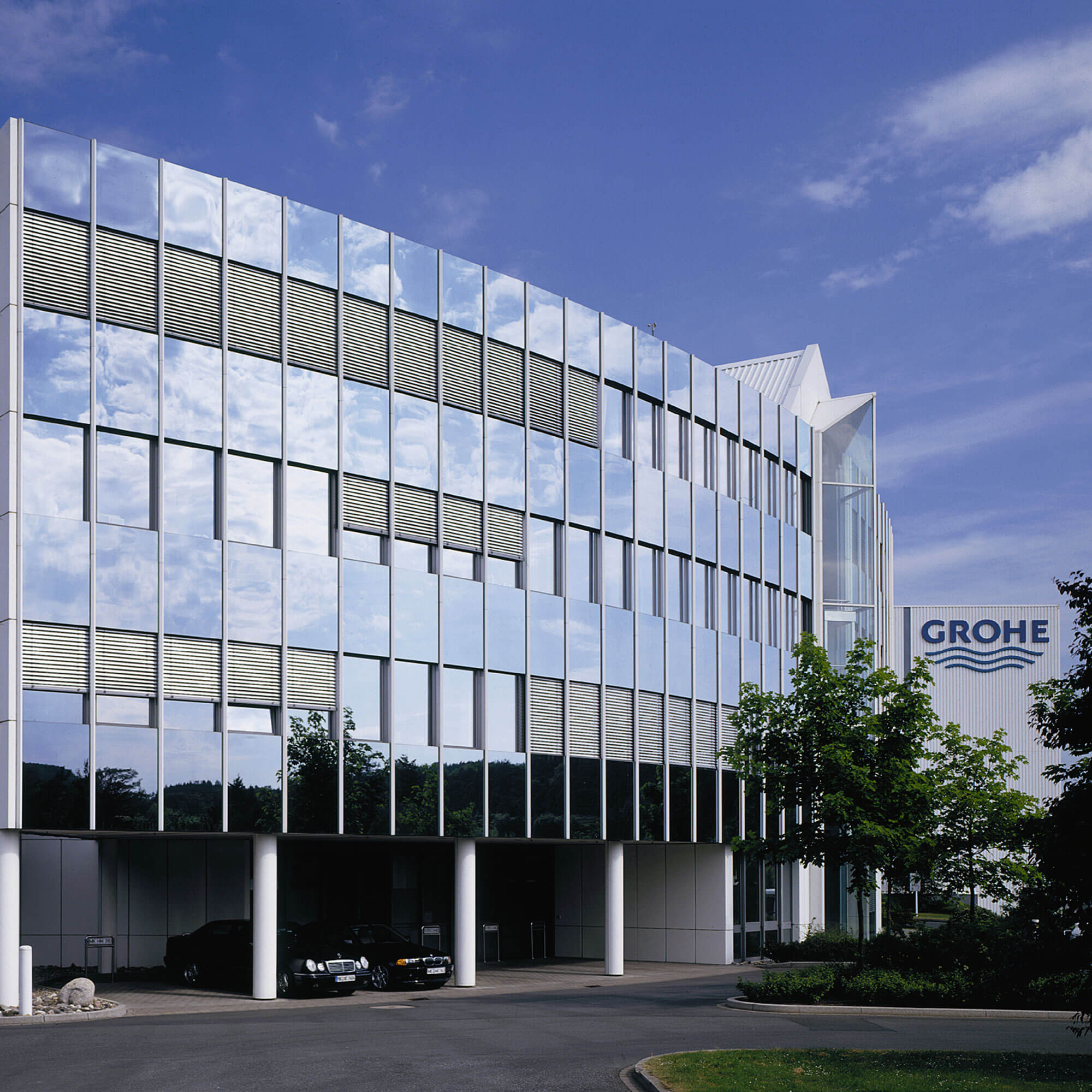 Exterior of Grohe building