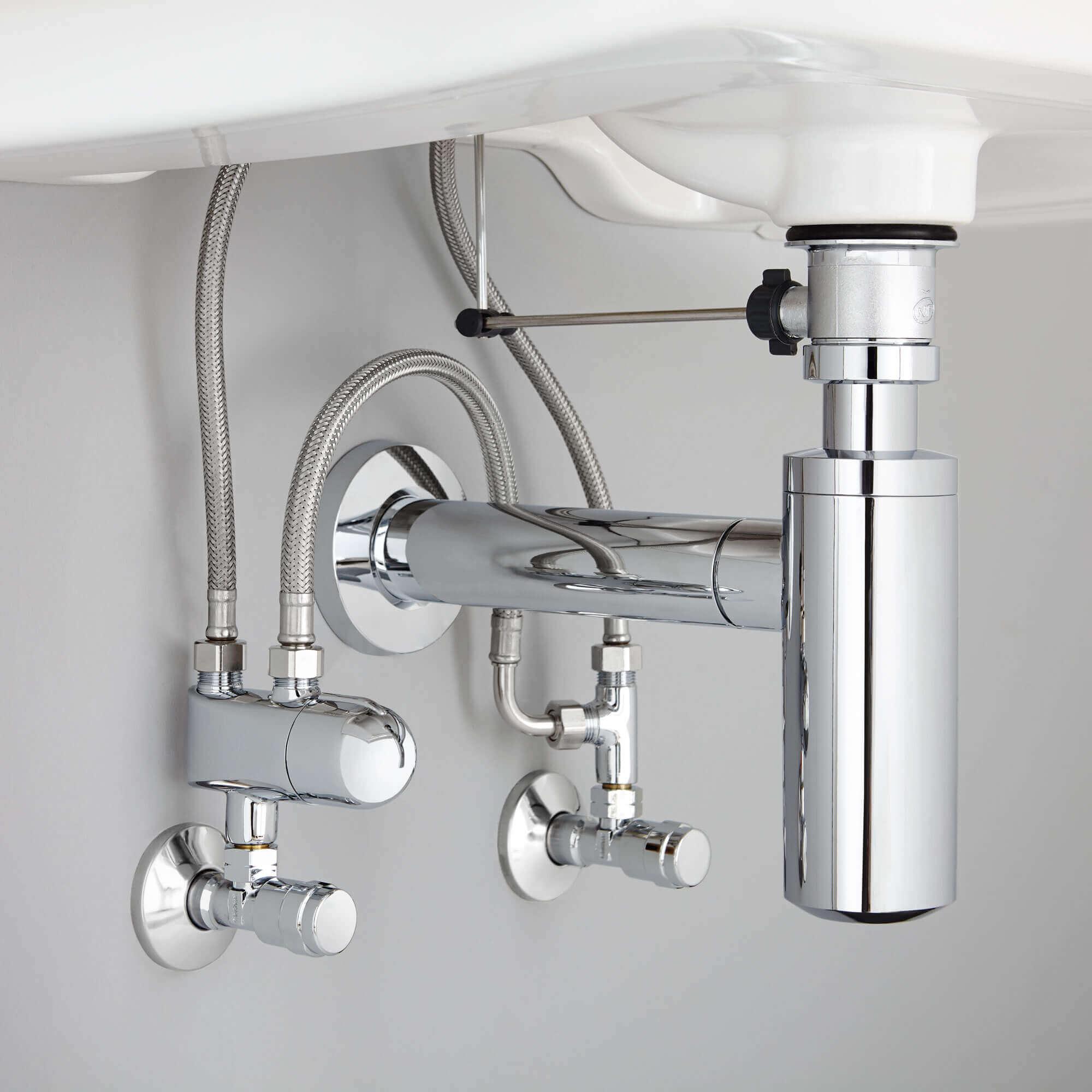 GROHE Grohtherm Micro Thermostat - sous la vue de l'évier