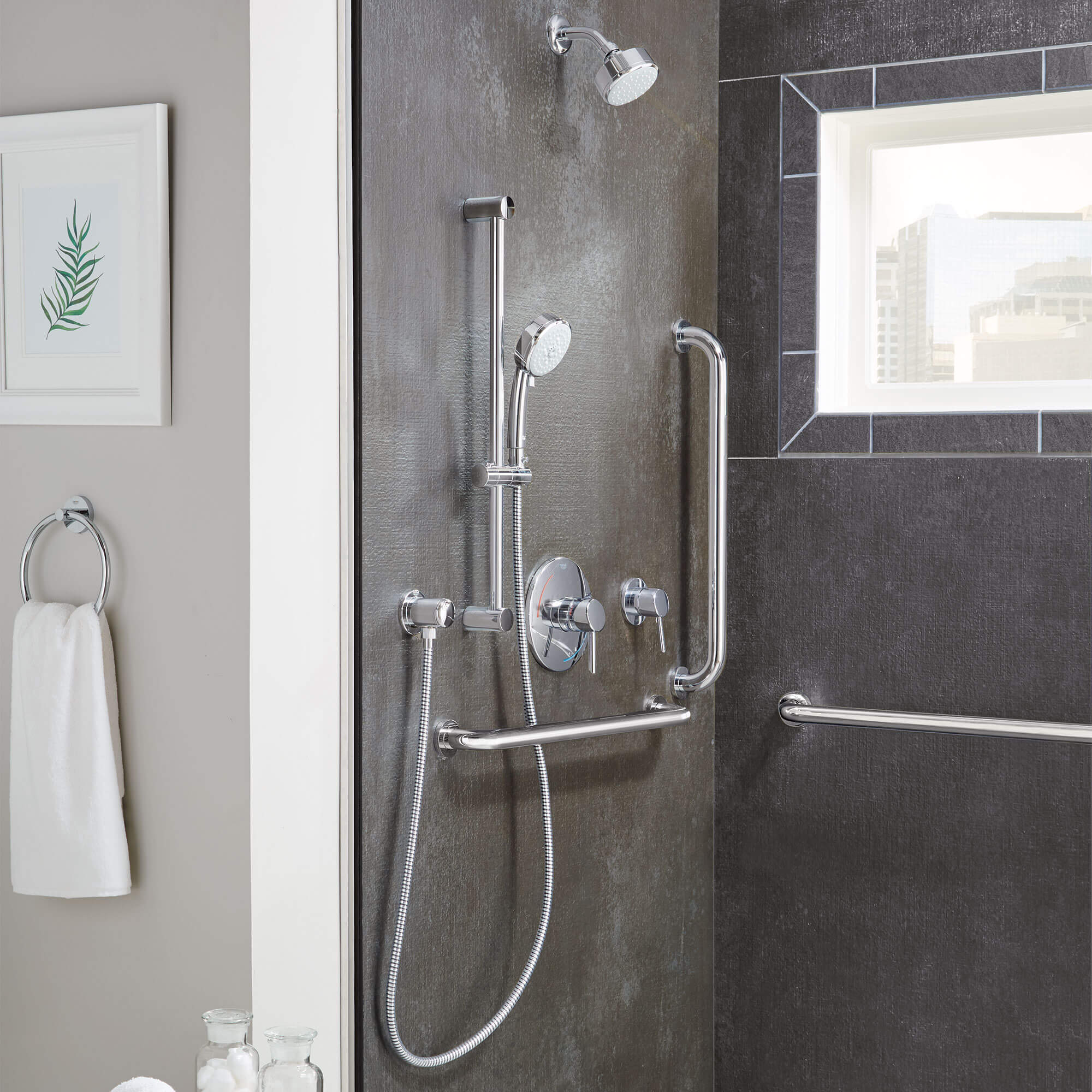 Concetto Bathroom Collection Shower