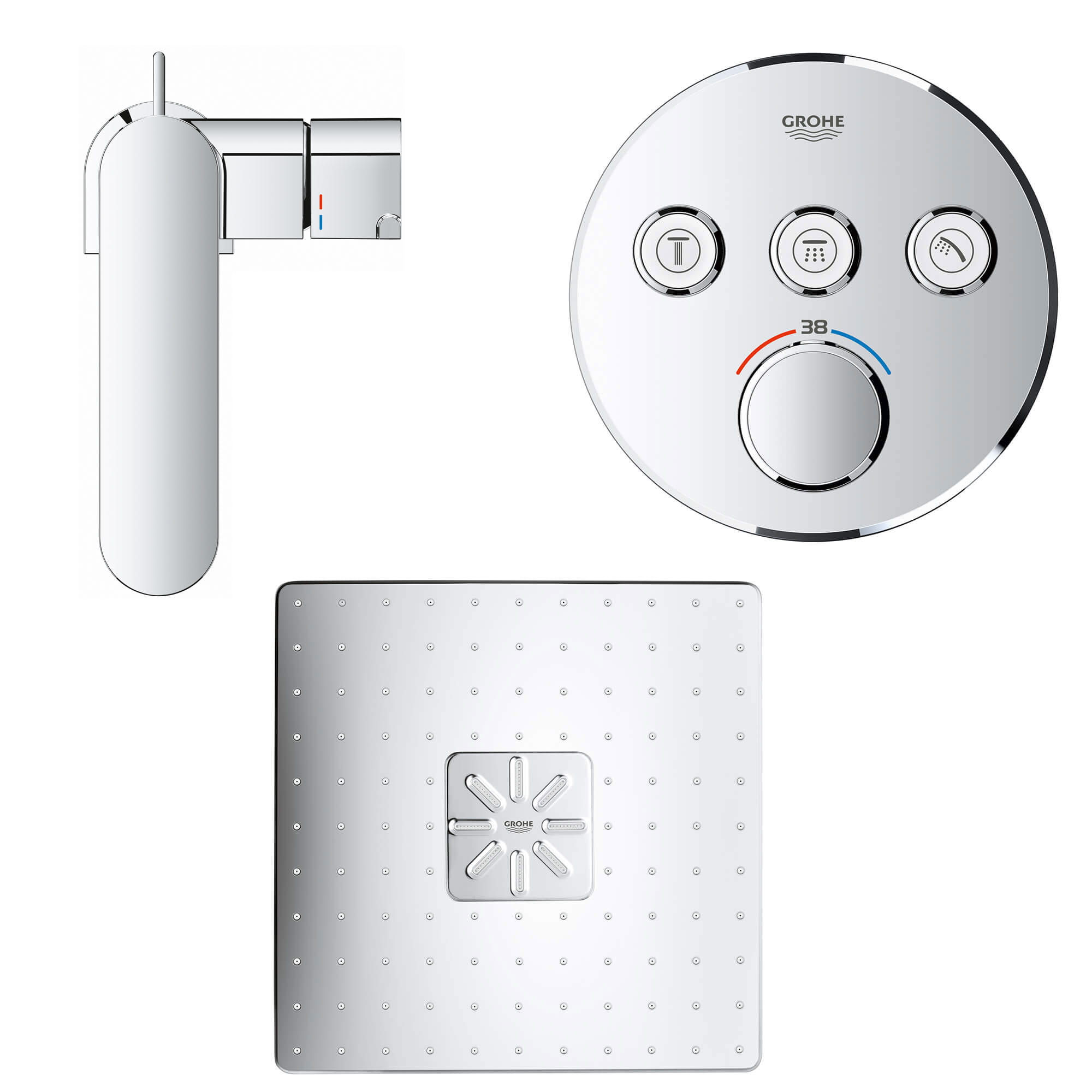 GROHE Plus with SmartControl