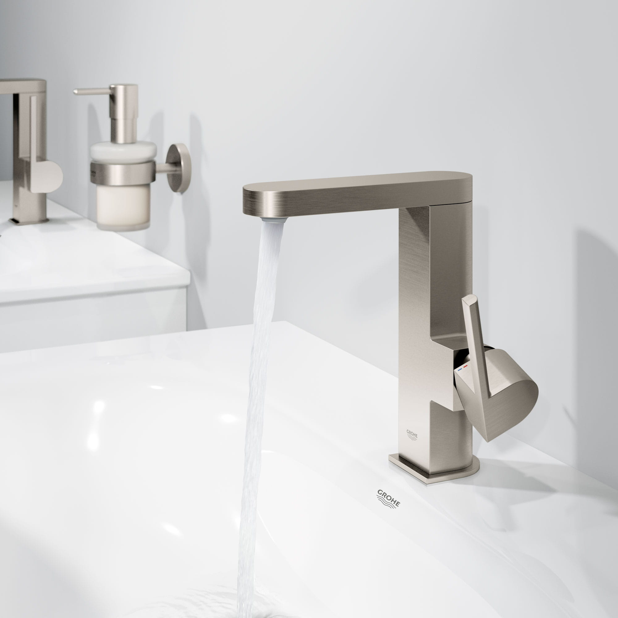 grohe plus bathroom faucet