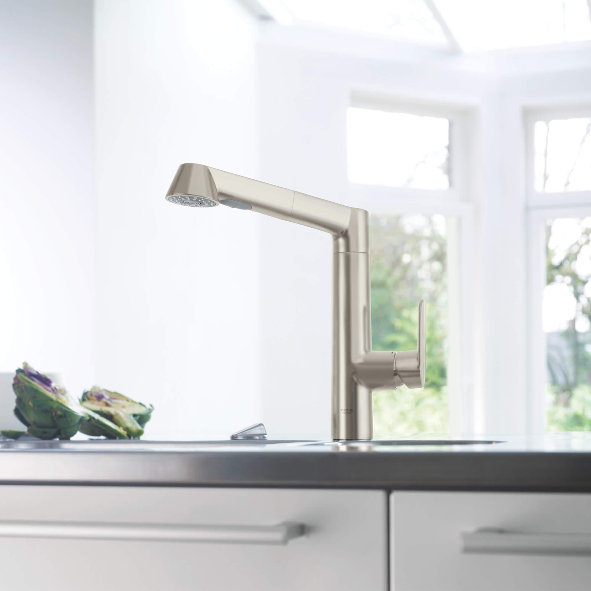 K7 Kitchen Faucet L-Shaped