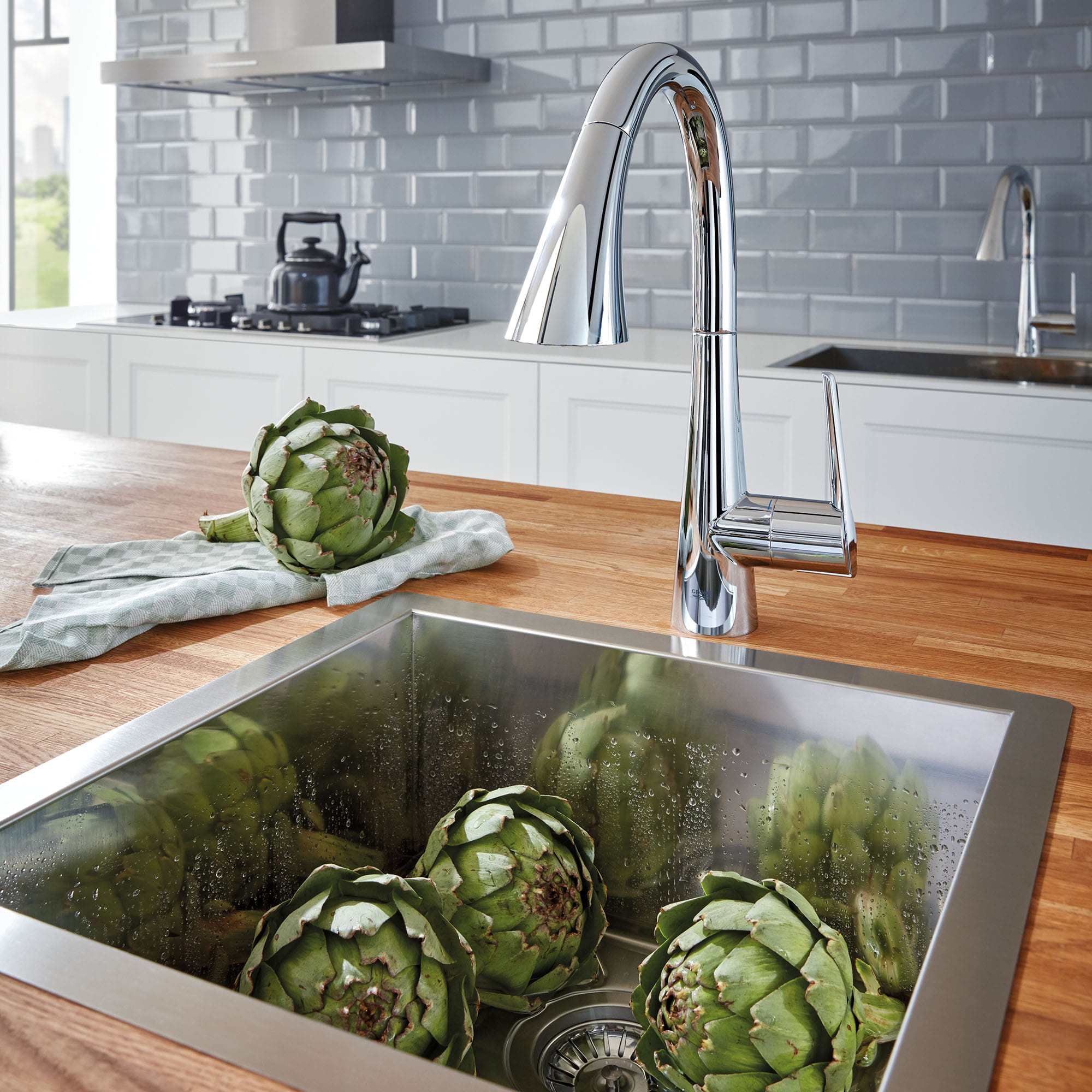 GROHE Zedra kitchen faucet