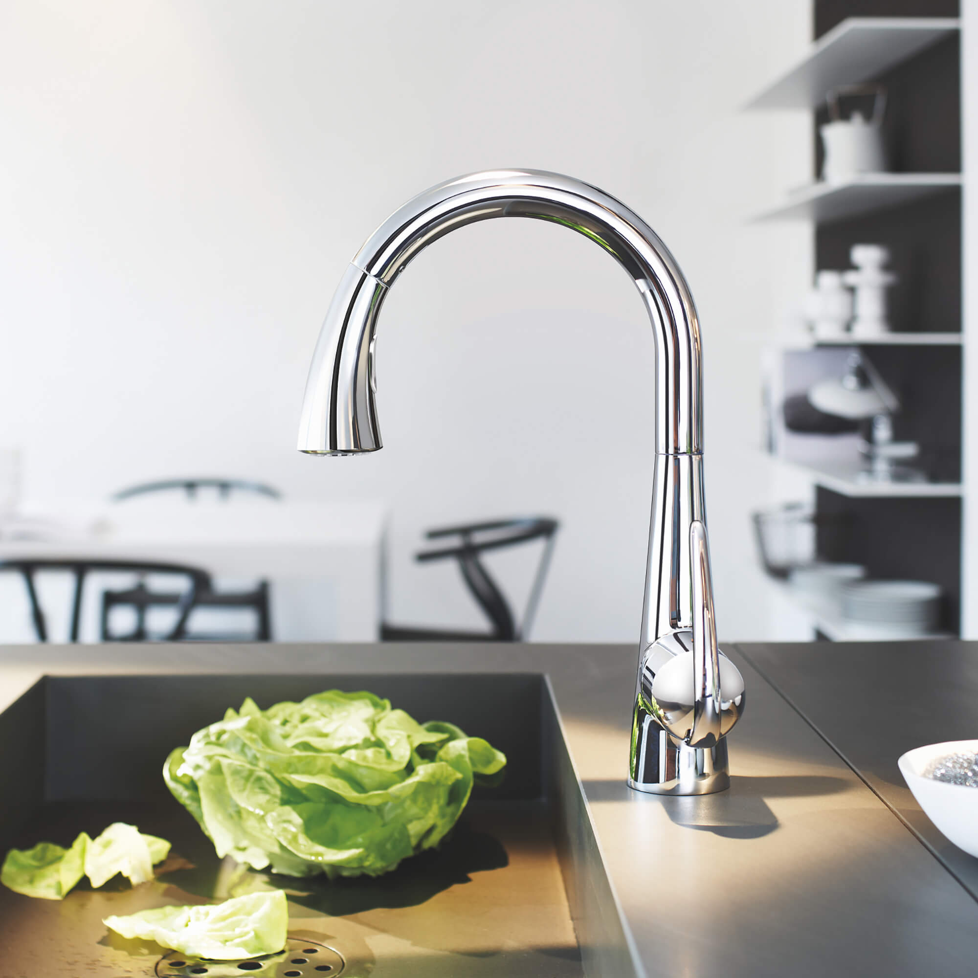 LadyLux3 Faucet in Kitchen