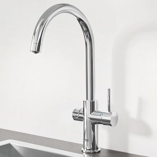 GROHE Blue C-Shaped Spout