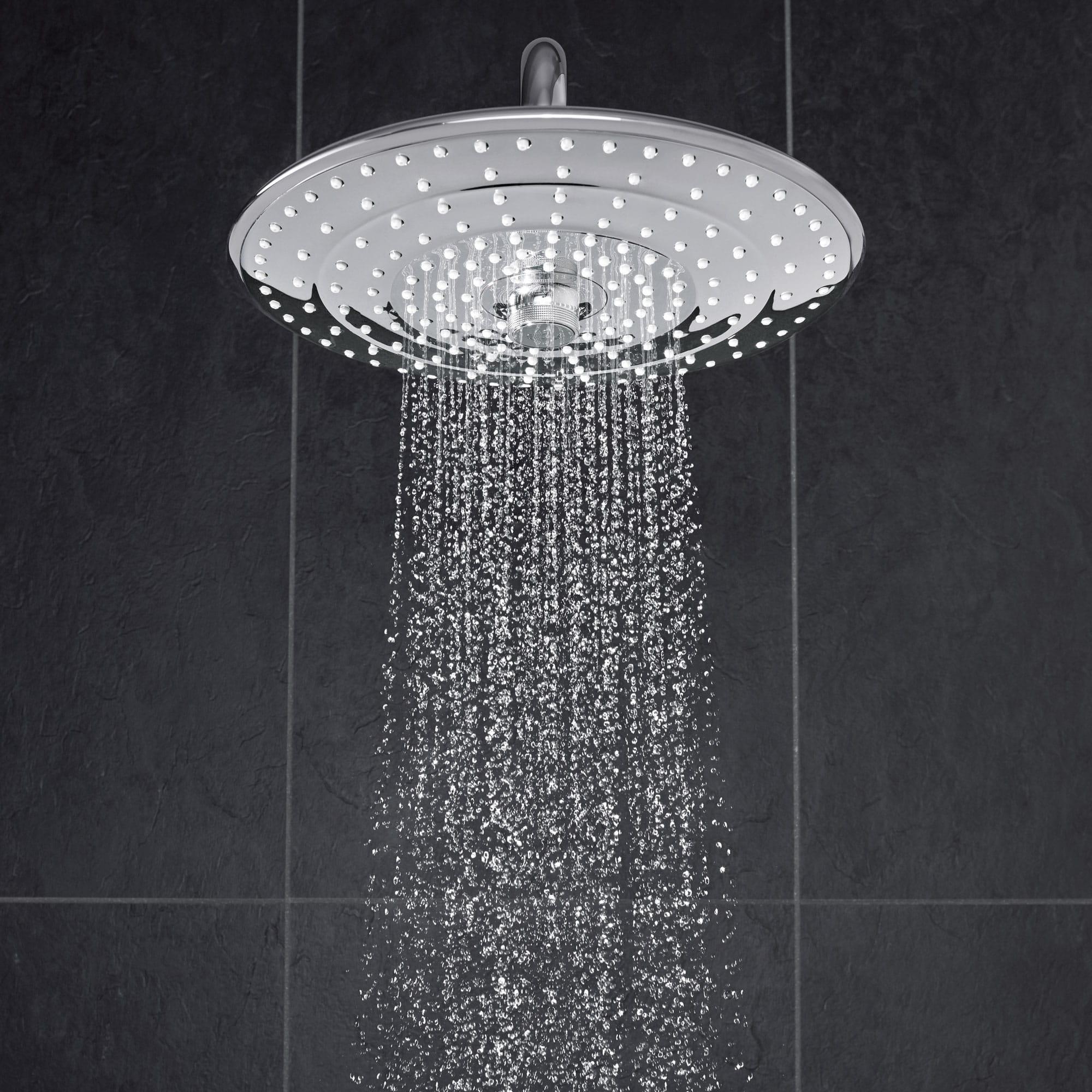 Euphoria Showerhead spraying water