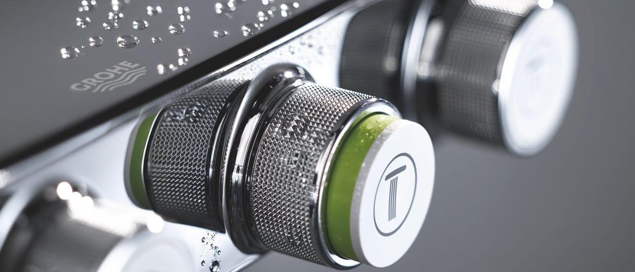 Euphoria SmartControl shower close up
