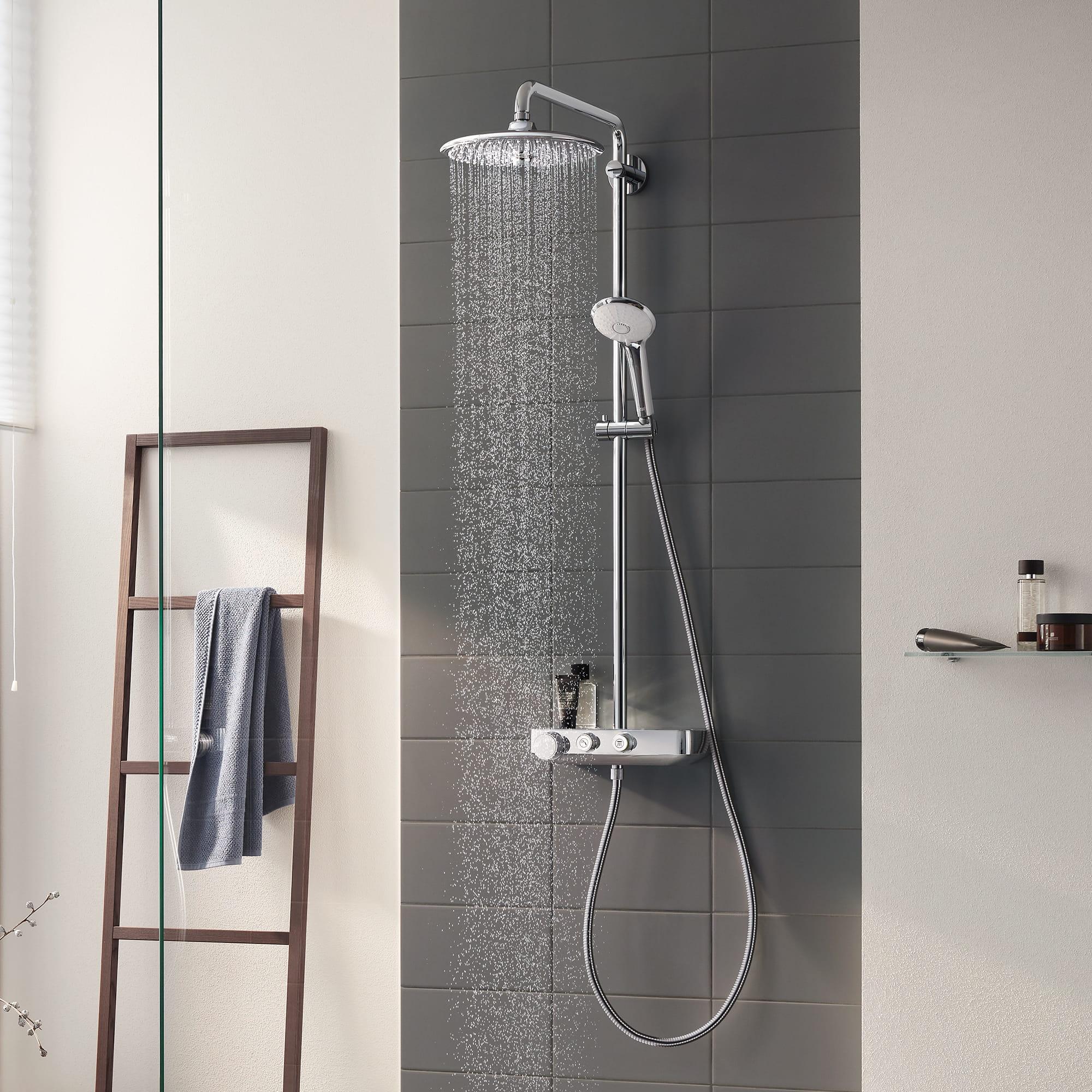 GROHE Duschsystem Euphoria SmartControl 260 MONO Regendusche Duschset