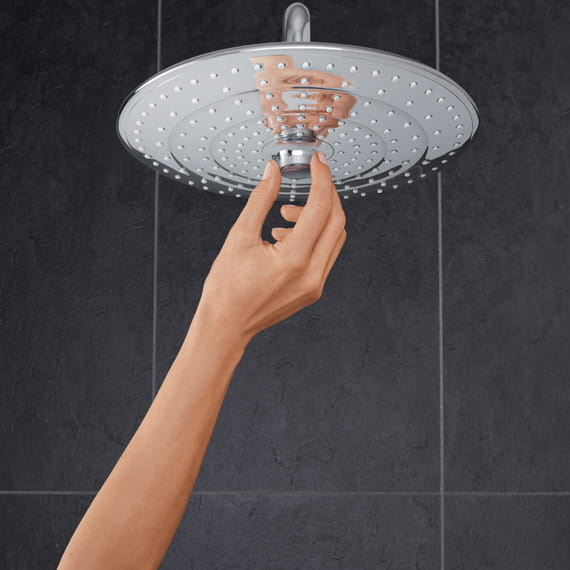 Euphoria Shower System with Center Dial