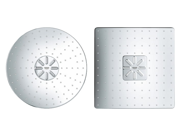 Square and Circular Shower Heads
