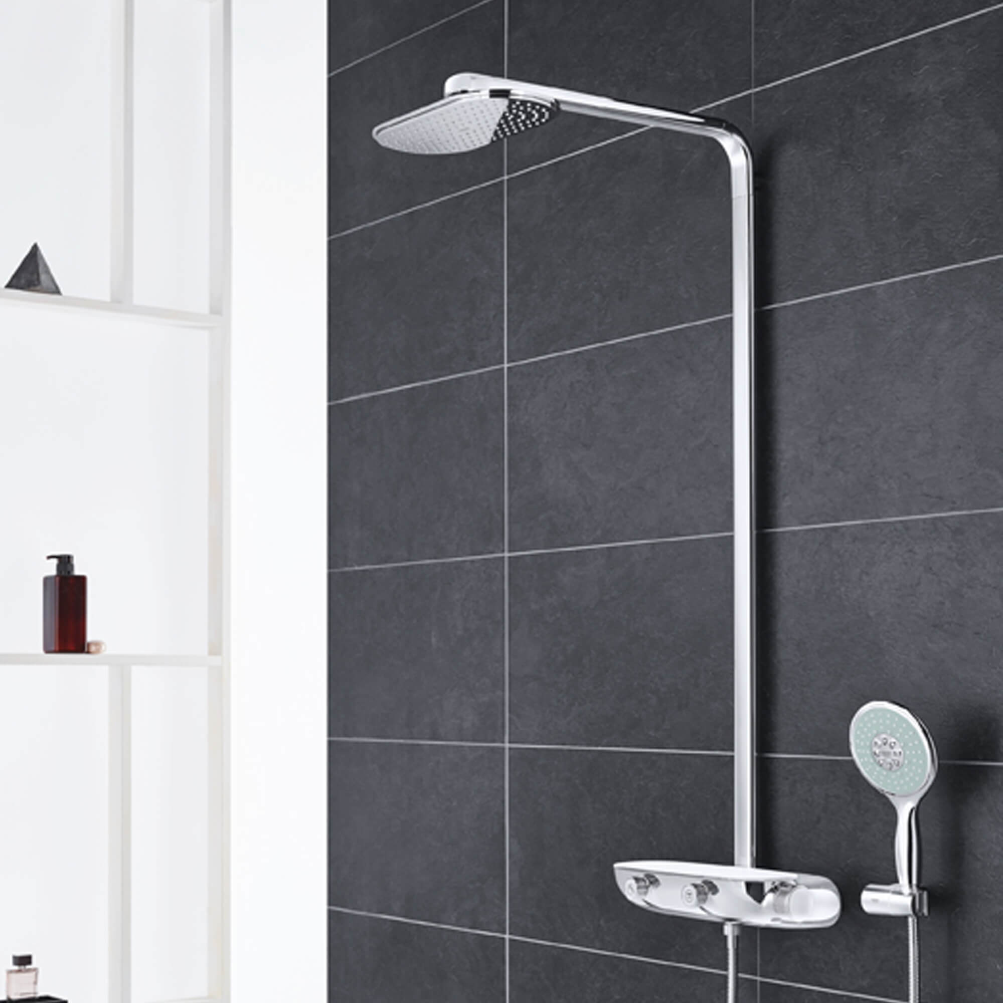 GROHE Smart Control Shower with water off