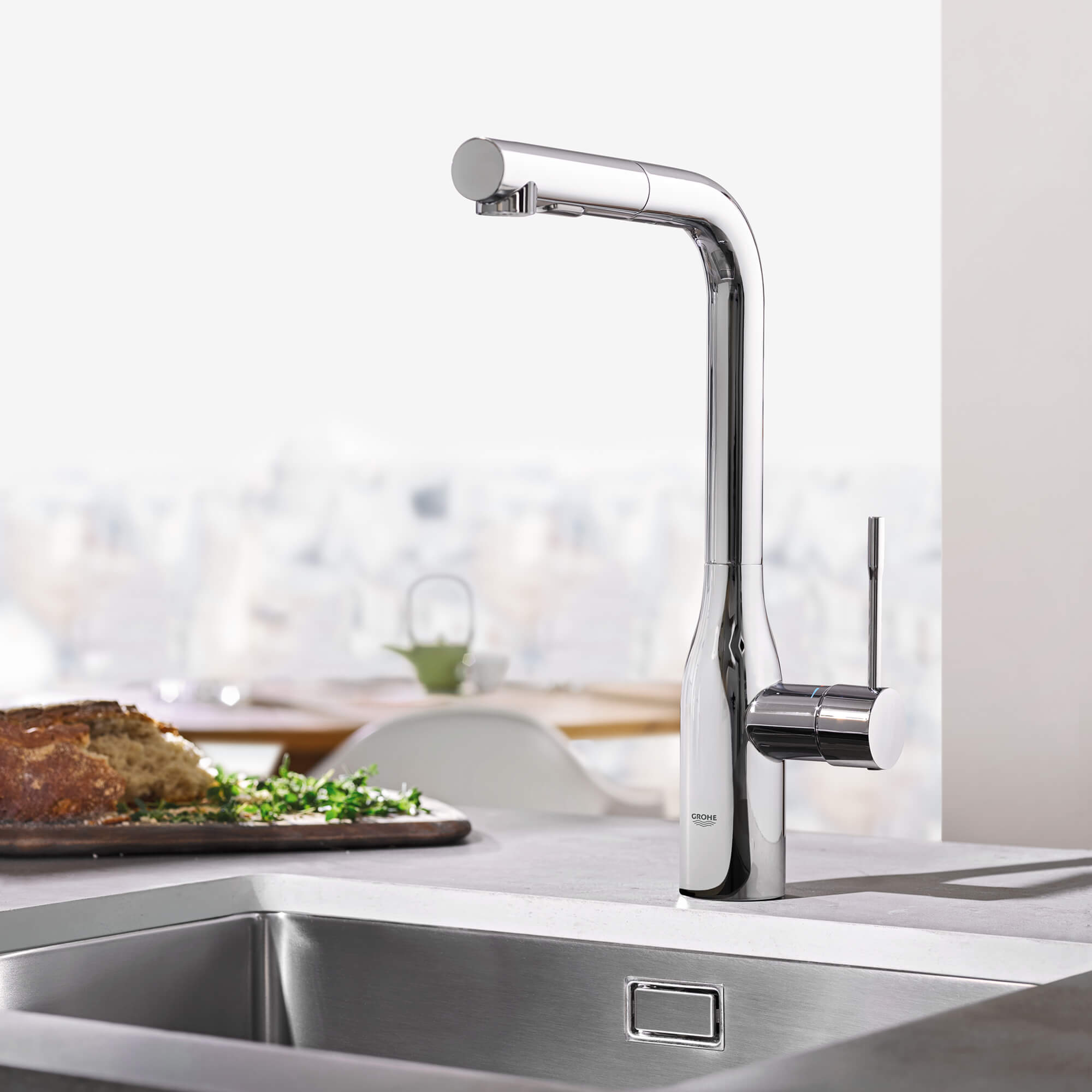 Choosing The Right Kitchen Faucet Kitchen Design Trends Grohe