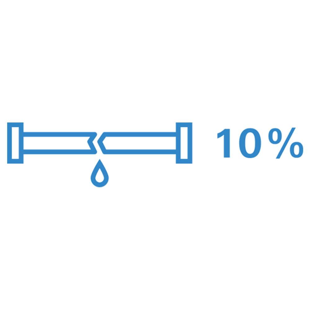 10% des ménages américains ont des fuites d'eau