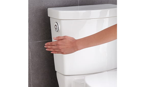 Activate Hands Free Flush Technology
