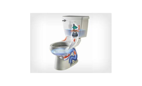 No Plunge Toilet Technology