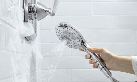 Divert Paddle on Spectra+ Hand Shower